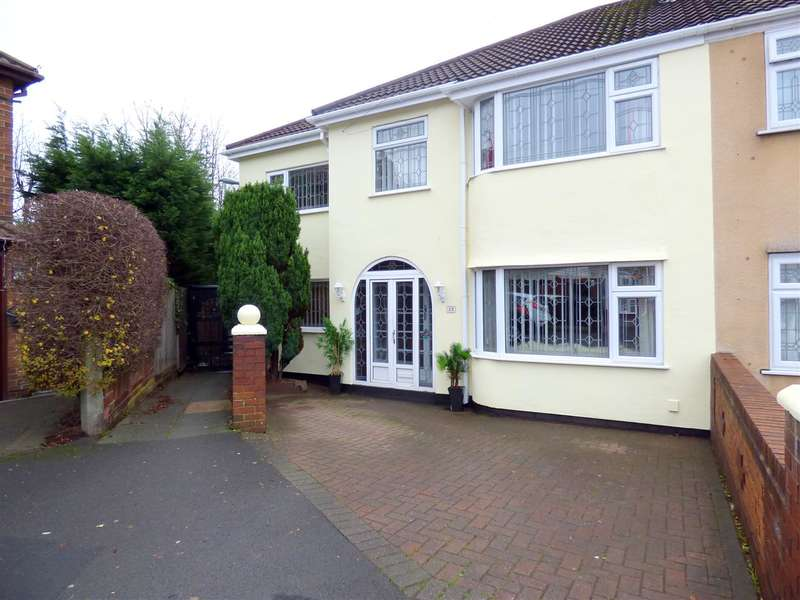 4 Bedrooms Semi Detached House for sale in Court Hey Drive, Childwall, Liverpool