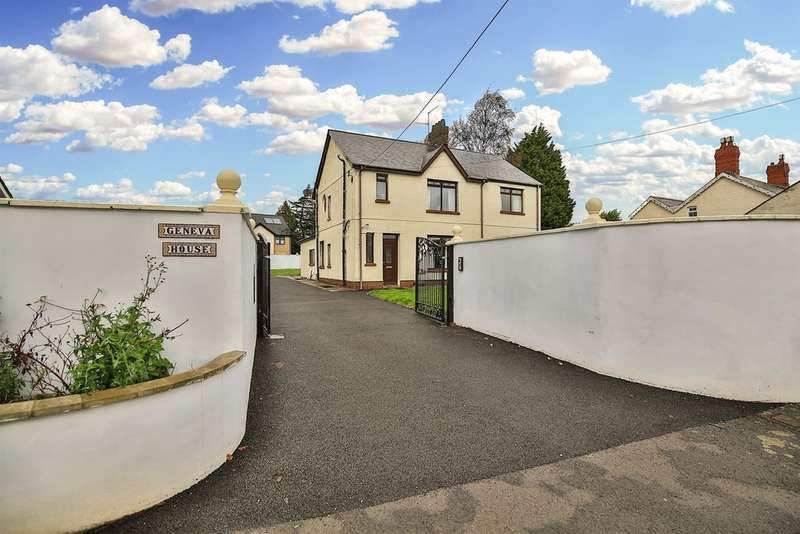 4 Bedrooms Detached House for sale in Wellfield Road, Marshfield, Cardiff