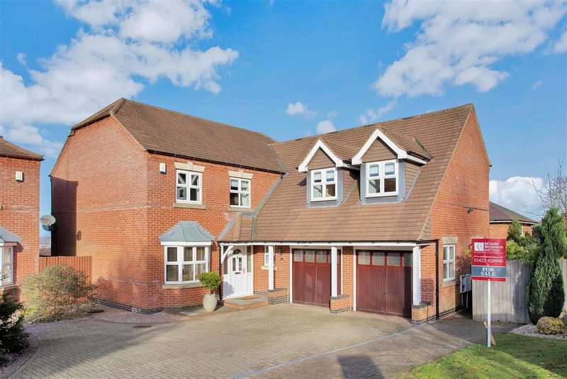 5 Bedrooms Detached House for sale in Croft Avenue, Mansfield