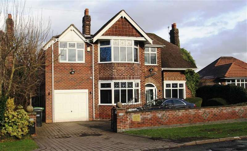 4 Bedrooms Detached House for sale in Dean Road, Handforth
