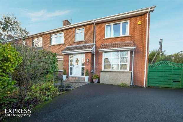 4 Bedrooms Semi Detached House for sale in Strathearn Park, Bangor, County Down