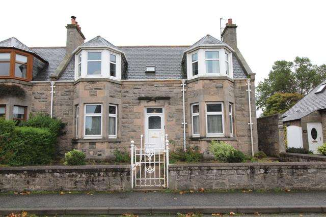 3 Bedrooms Semi Detached House for sale in Hesdin, 31 West Cathcart Street, Buckie AB56 1PP