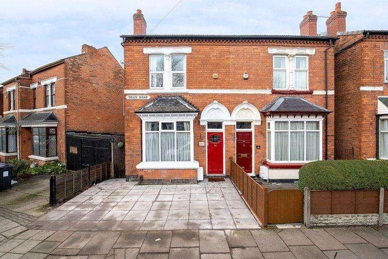 3 Bedrooms Semi Detached House for sale in Dean Road, Birmingham