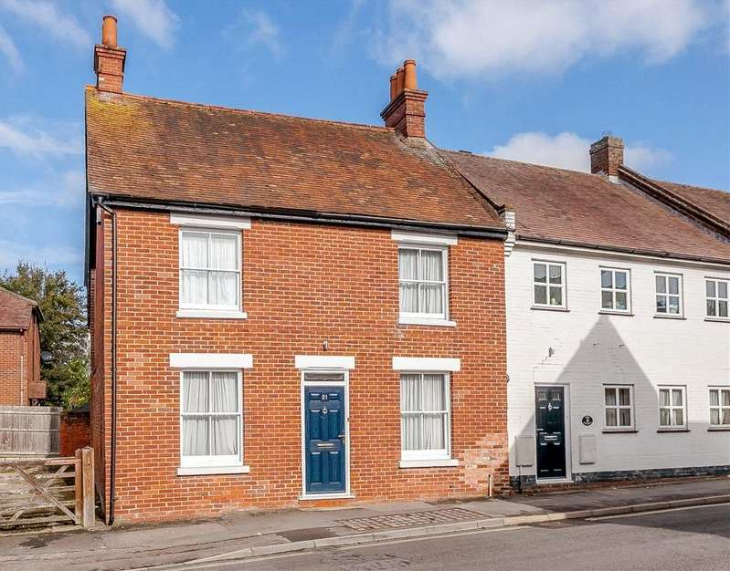 3 Bedrooms End Of Terrace House for sale in George Street, Kingsclere, Newbury, Hampshire, RG20