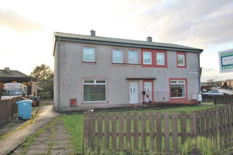 3 Bedrooms Semi Detached House for sale in 49 St Catherines Crescent, Shotts