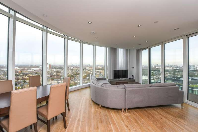 3 Bedrooms Apartment Flat for sale in Ireton House, 3 Stamford Square, London, SW15
