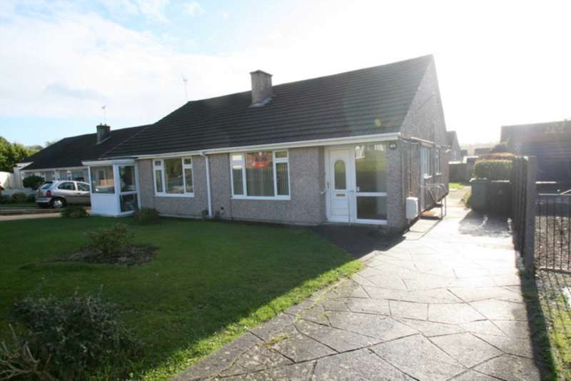 2 Bedrooms Semi Detached Bungalow for sale in Launceston Close, Widewell