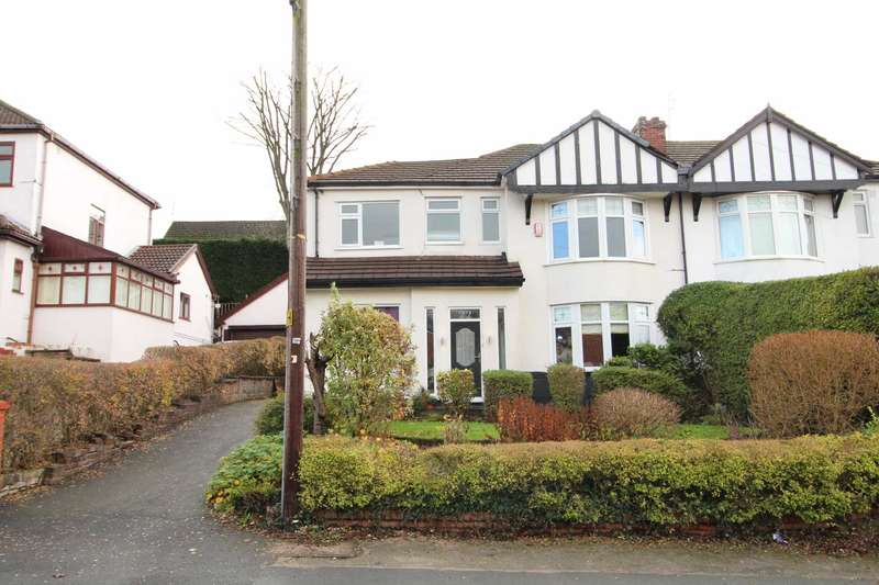 4 Bedrooms Semi Detached House for sale in Woodhill Drive, Prestwich