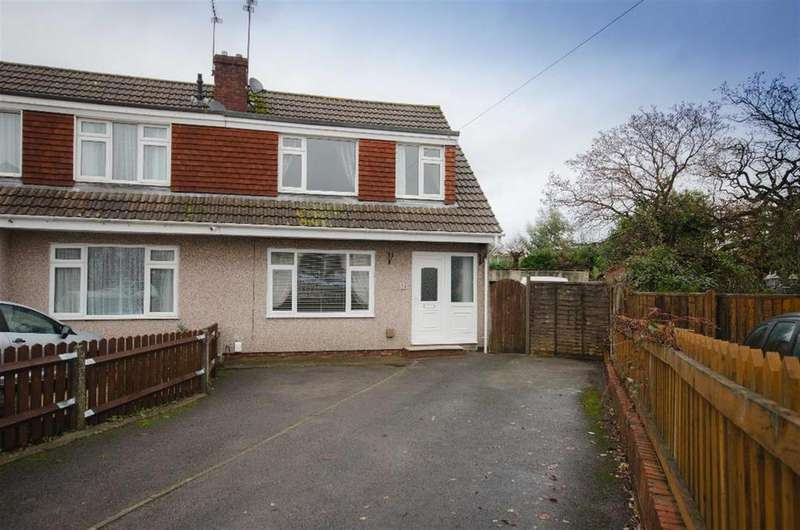 3 Bedrooms Semi Detached House for sale in Brook Road, Mangotsfield, Bristol, BS16 9DY