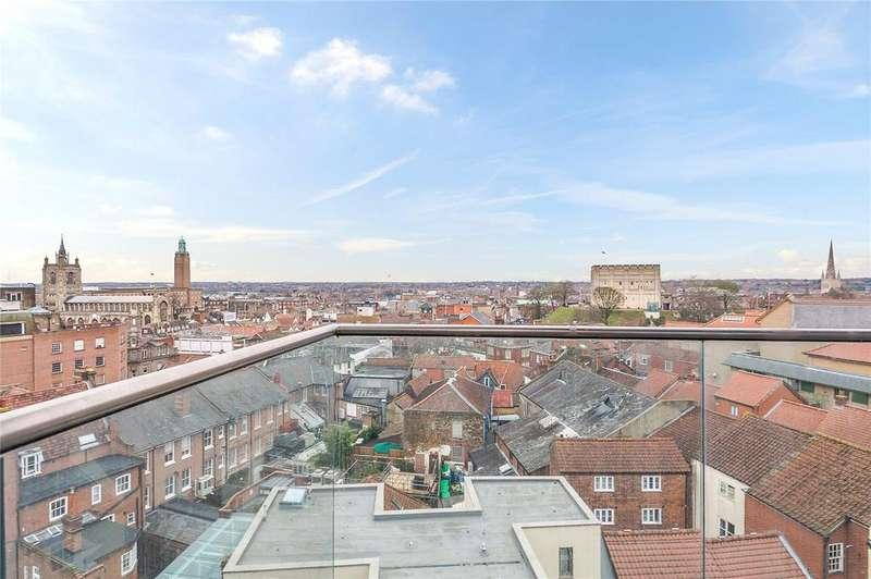 3 Bedrooms Flat for sale in Westlegate Tower, 14-18 Westlegate, Norwich, NR1