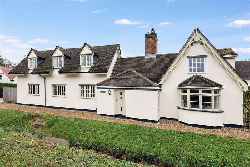 4 Bedrooms Detached House for sale in Church Road, Little Thurlow, Suffolk, CB9