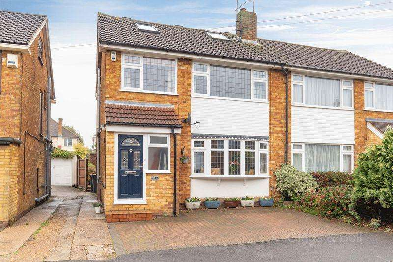 4 Bedrooms Semi Detached House for sale in Swifts Green Road, Luton