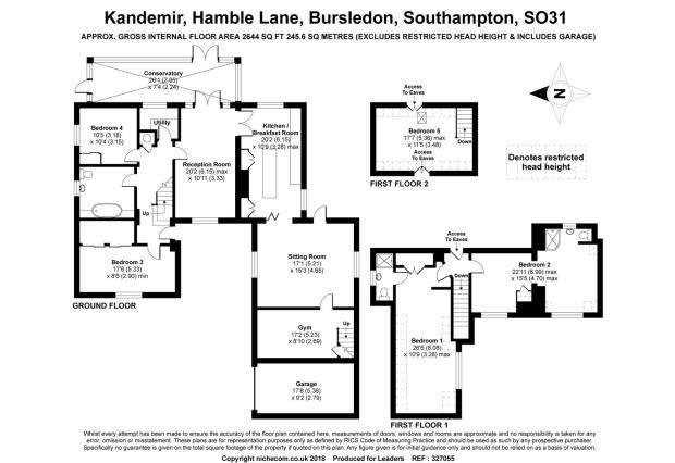 5 Bedrooms House for sale in Hamble Lane, Bursledon, Southampton