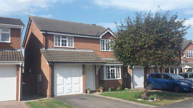 4 Bedrooms Detached House for sale in Berrybut Way, Stamford