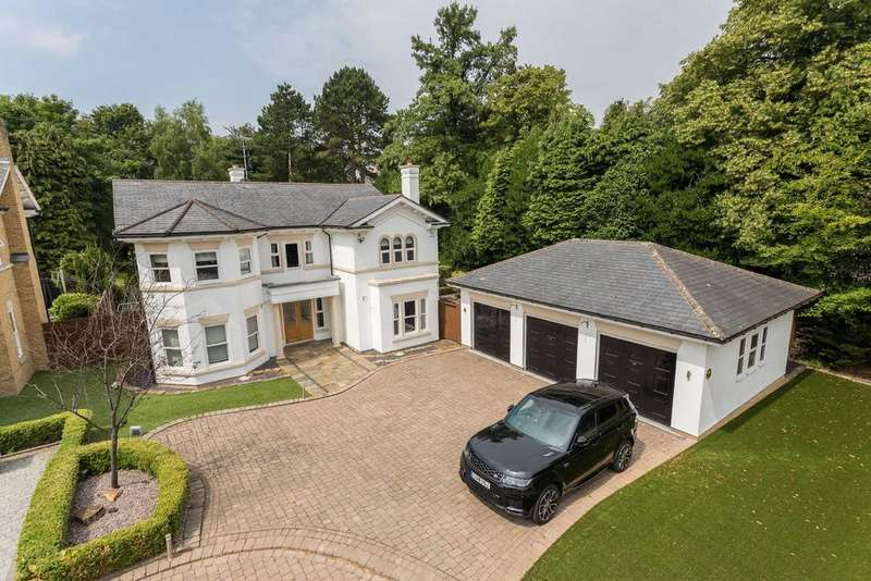 5 Bedrooms Detached House for sale in Allandale, Bradgate Road, Altrincham, Cheshire, WA14