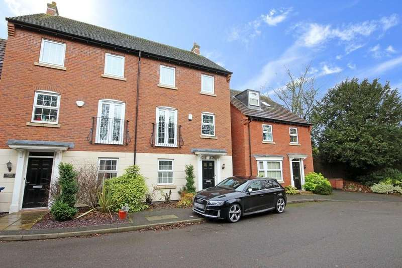 5 Bedrooms Town House for sale in Walnut Gardens, East Leake