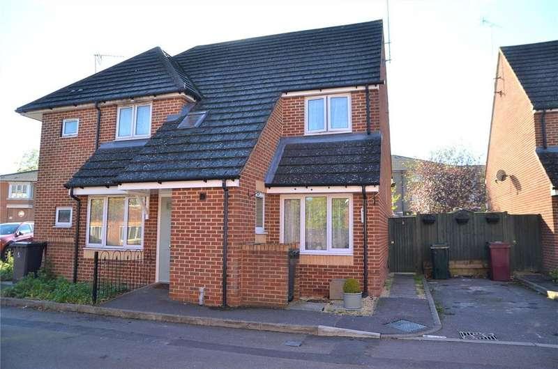 3 Bedrooms Semi Detached House for sale in Shilling Close, Tilehurst, Reading, Berkshire, RG30