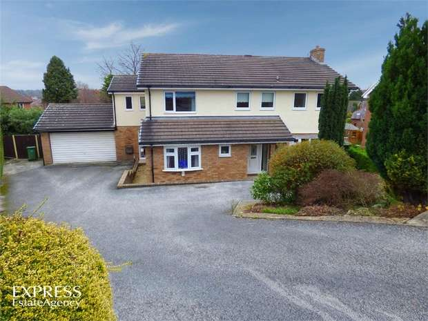 5 Bedrooms Detached House for sale in Glyn Avenue, Wrexham