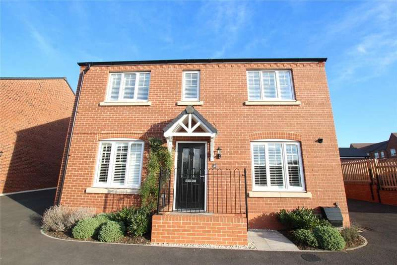 4 Bedrooms Detached House for sale in Furrow Close, Holly Green, Upton-upon-Severn, Worcester, WR8