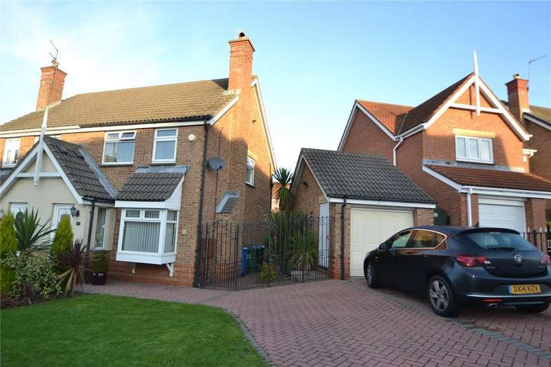 3 Bedrooms Semi Detached House for sale in O'Neill Drive, Peterlee, Co.Durham, SR8