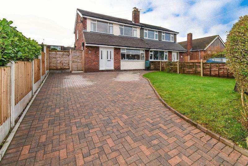 3 Bedrooms Semi Detached House for sale in Tidnock Avenue, Congleton