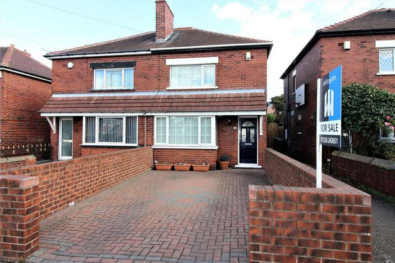 3 Bedrooms Semi Detached House for sale in Nanny Marr Road, Darfield, S73