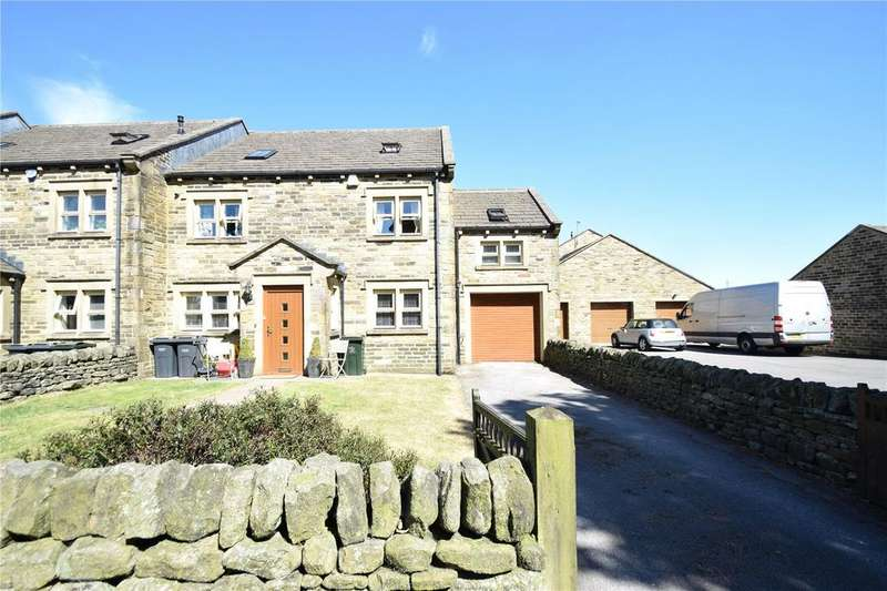 5 Bedrooms End Of Terrace House for sale in Denholme House, Farm Drive, Denholme, Bradford, BD13