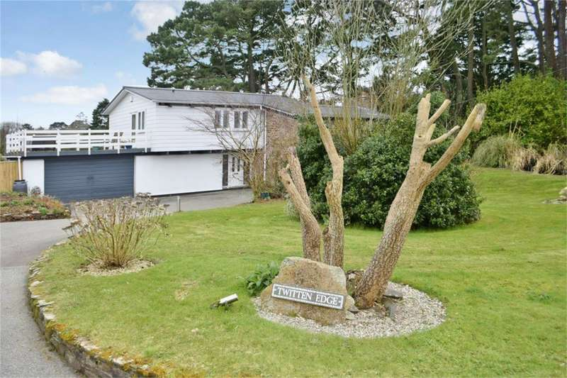 4 Bedrooms Detached House for sale in MAWNAN SMITH, Falmouth, Cornwall