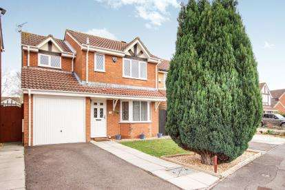 4 Bedrooms Detached House for sale in Great Meadow Road, Bradley Stoke, Bristol, Gloucestershire