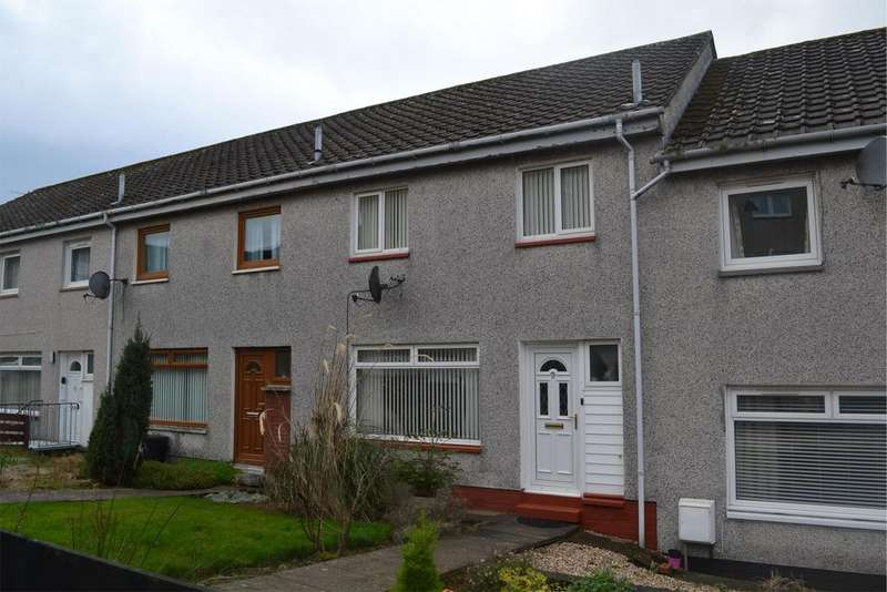 3 Bedrooms Terraced House for sale in 9 Holehouse Court, LARGS, KA30 9HH