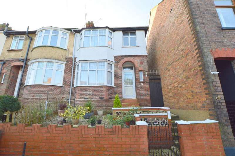 3 Bedrooms End Of Terrace House for sale in Harcourt Street, South Luton, Luton, LU1 3QL