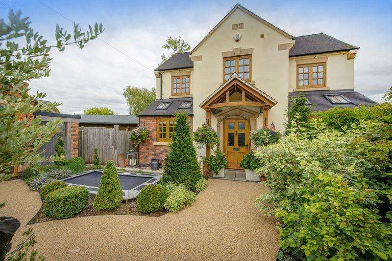 4 Bedrooms Detached House for sale in LANGLEY VIEW, THE GREEN, DALBURY LEES