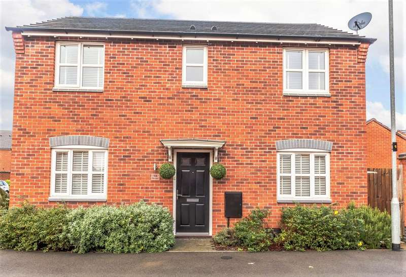 3 Bedrooms Detached House for sale in Pike Lane, Ibstock, LE67