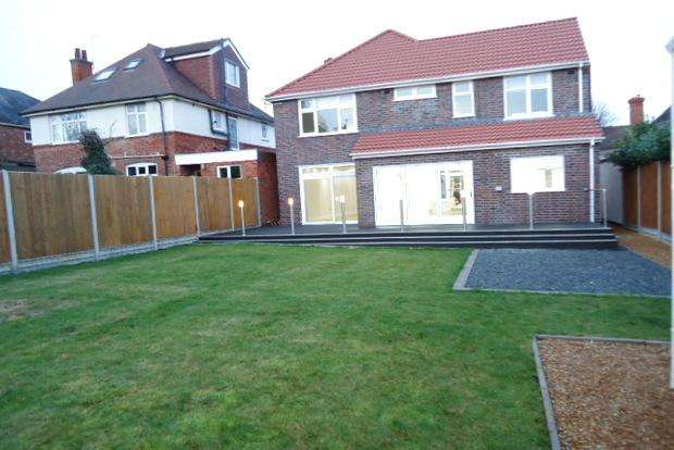 4 Bedrooms Detached House for sale in Upperton Road, Western Park, Leicester, LE3