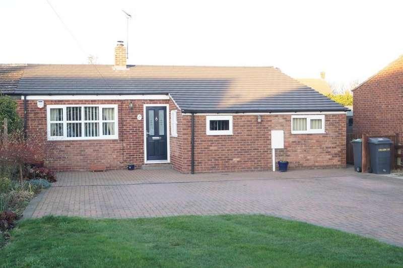 3 Bedrooms Semi Detached Bungalow for sale in Brocklebank Close, Bassingham