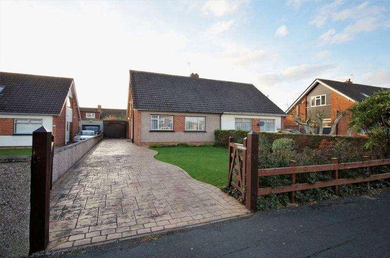 3 Bedrooms Semi Detached Bungalow for sale in Bourton Close, Stoke Lodge, Bristol