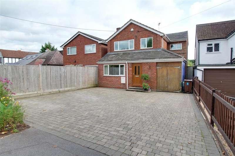 4 Bedrooms Detached House for sale in Colemans Moor Road, Woodley, Reading, Berkshire, RG5