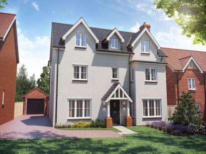 5 Bedrooms Detached House for sale in Cambridge Road, Stansted