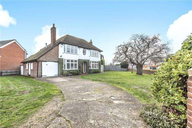 3 Bedrooms Detached House for sale in Hilltop Road, Earley, Reading