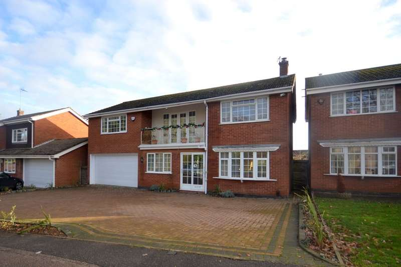 5 Bedrooms Detached House for sale in Abington Park Crescent, Abington, Northampton, NN3