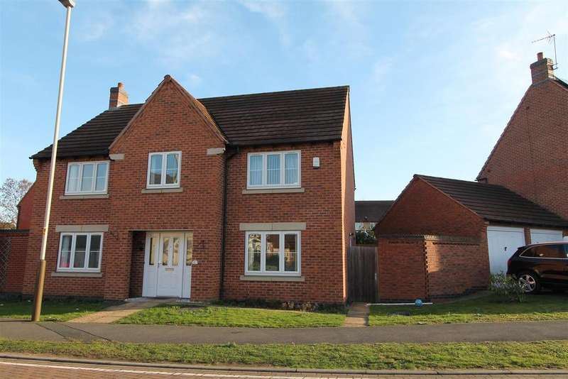 4 Bedrooms Detached House for sale in Lady Hay Road, Leicester