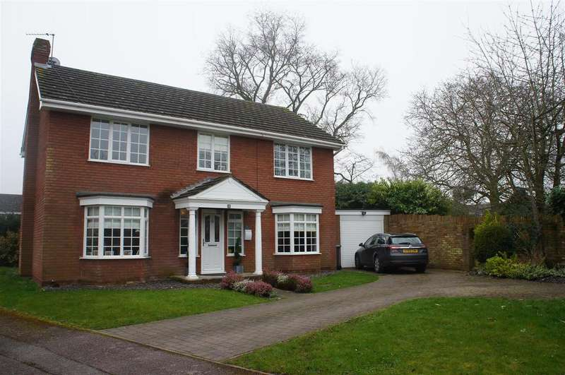 4 Bedrooms Detached House for sale in Plough Close, Cranfield