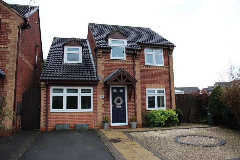 4 Bedrooms Detached House for sale in Stainmore Avenue, Narborough, Leicester