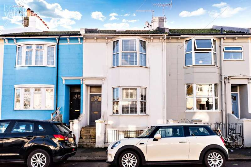 3 Bedrooms Terraced House for sale in Shirley Street, Hove, East Sussex, BN3