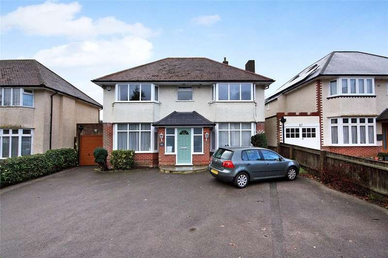 4 Bedrooms Detached House for sale in Harewood Avenue, Bournemouth, Dorset, BH7