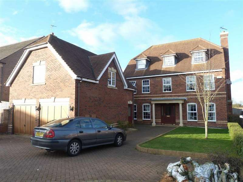 5 Bedrooms Detached House for rent in Chestnut Drive, Oadby, Leicester