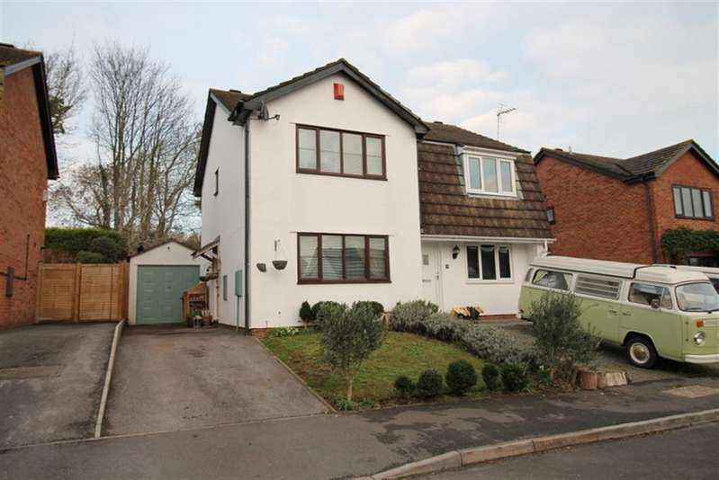 2 Bedrooms Semi Detached House for sale in Riverside Close, Bristol, BS11 9RF