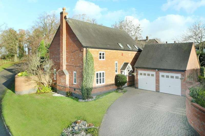 4 Bedrooms Detached House for sale in The Old Coach Road, Dunton Bassett, Lutterworth