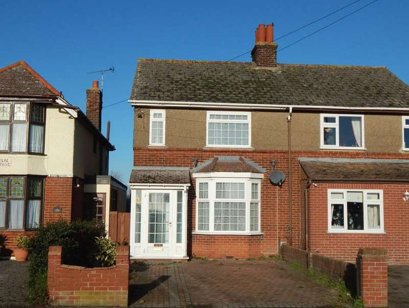 3 Bedrooms Semi Detached House for sale in MAIN ROAD, DOVERCOURT, HARWICH CO12