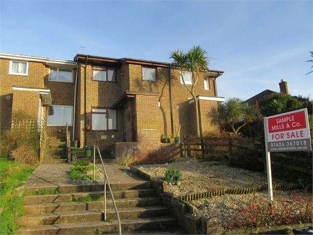 3 Bedrooms Terraced House for sale in Broadmeadow View, Teignmouth, Devon. TQ14 9BS